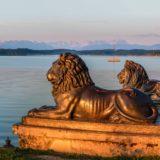Bayrische Löwen Starnberger See